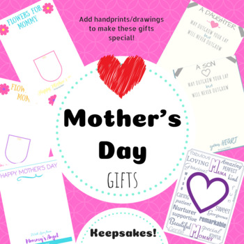 Mother's Day Keepsake Gifts