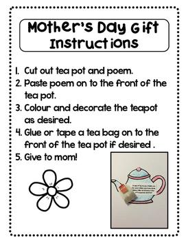 Mother's Day Kindergarten