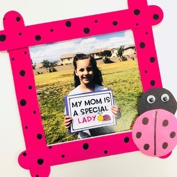 Mothers Day Ladybug Booklet And Picture Frame Craft By Life Between