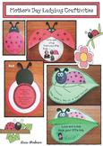 """Mother's Day Crafts: """"Love & a Hug From Your Little Bug"""" Ladybug Crafts"""