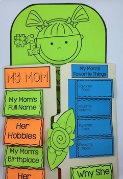 Mother's Day Craft and Activity Lap Book