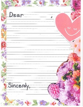 spring summer letter template by esl elementary extravaganza tpt
