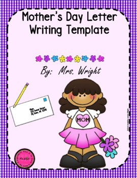 Mother's Day Letter Writing Template