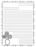Mother's Day Letter with Graphic Organizer