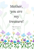 Mother's Day Literacy Writing Packet