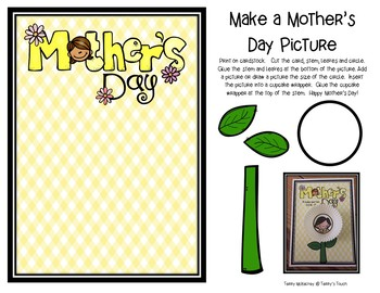 Mother's Day Literacy and Craftivity