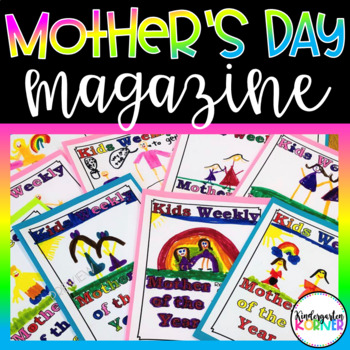 Mother's Day Magazine Mother of the Year Keepsake Writing Craft K 1st 2nd