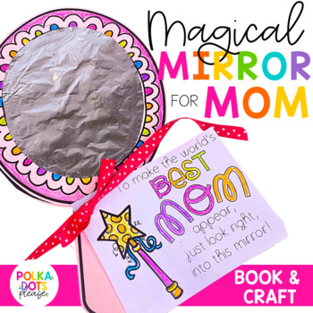 Mother's Day Magic Mirror Craft and Writing Activity