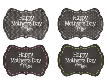 Mother's Day Mason Jar Tags