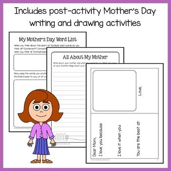 Mother's Day Math Goofy Glyph (8th Grade Common Core)