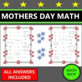Mother's Day Math and Literacy Letters - Cards – Printable