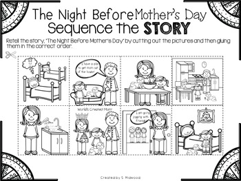 Mother's Day Math and Literacy Activities