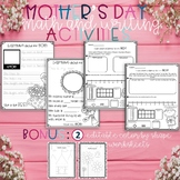 Mother's Day Math and Writing Activities