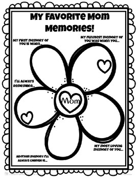 Mother's Day Memory Book (& Grandma/Auntie versions, too)
