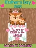 Mother's Day Mom & Baby Deer - Moonju Makers Craft Activity