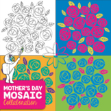 Mother's Day Mosaic - Radial Symmetry Mosaic - Easy, Fun A