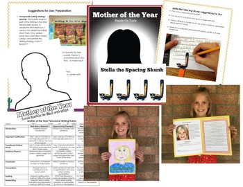 Mother's Day Mother of the Year Persuasive Writing Project