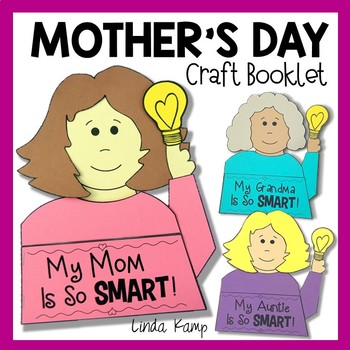 Mother's Day Booklet Craft - My Mother Is So Smart!