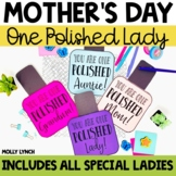 Mother's Day Craft - Nail Polish Craftivity