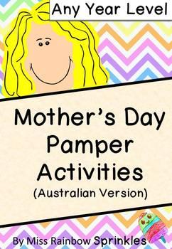 Mother's Day Unit (Australian Version)