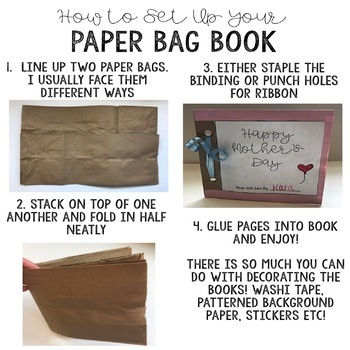 Mother's Day Paper Bag Book