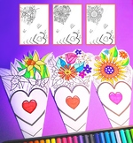 Mother's Day Paper Bouquet Craft