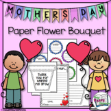Mother's Day Paper Flower Bouquet - Thank You For Helping Me Grow