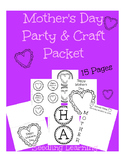 Mother's Day Party & Craft Packet