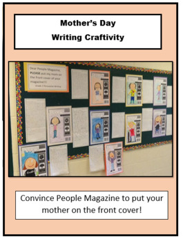 Mother's Day - People Magazine Persuasive Writing Activity
