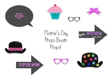 Mother's Day Photo Booth Props!