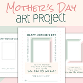 Mother's Day Photo Frame Art Project