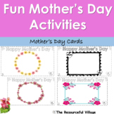 Mother's Day Picture Frames - Fun Mother's Day Activities - Drawing and Coloring