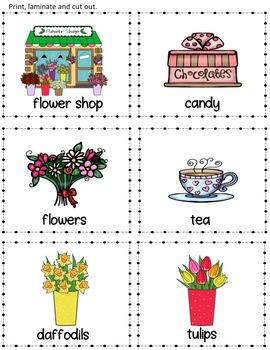Mother's Day Picture Vocabulary Cards