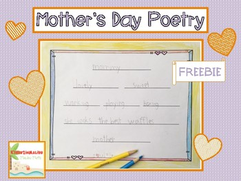 Mother's Day Poem Freebie