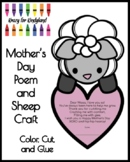 Mother's Day Poem and Sheep Craft for Kindergarten