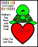 Mother's Day Poem and Turtle Craft for Kindergarten