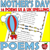Mother Poems 14 Poems for Mother Mom Mommy