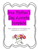 Mother's Day Poetry Paper
