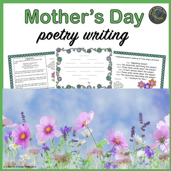 Mother's Day Poetry Writing Freebie!