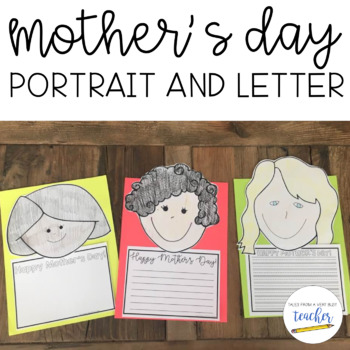 Mother's Day Portrait and Letter