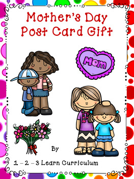 Mother's Day Post Card Craft
