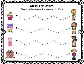 Mother's Day Pre-Writing Printables