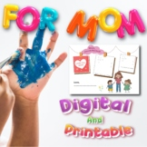 Mother's Day Preschool Digital and Printables, A Gift for Mom