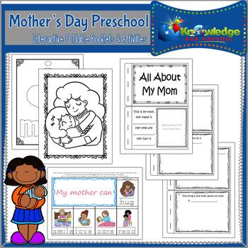 Mother's Day Preschool Interactive Activities - EBOOK
