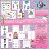 Mother's Day Preschool Through Second Grade Pack #TpTDista