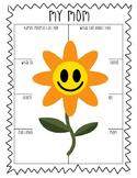 Mother's Day Prewrite Graphic Organizer