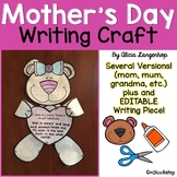 Mother's Day Bear Craft