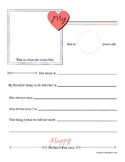 Mother's Day Printable Pages