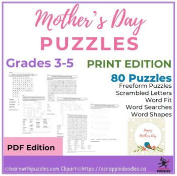 Mother's Day Puzzles - 68 Unique Puzzle Collection