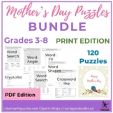 Mother's Day Puzzles - 120 Unique Mother's Day Puzzle Bundle